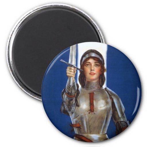 Juana de Arco Iman De Nevera