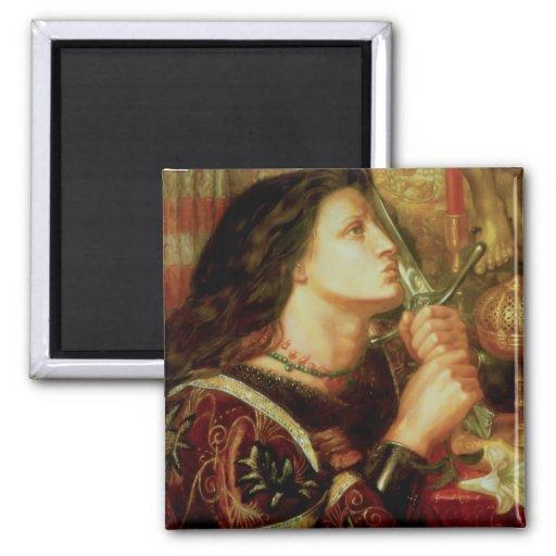 Juana de Arco Imán Para Frigorifico