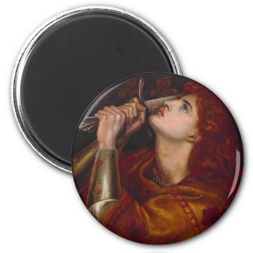 Juana de Arco Imanes De Nevera