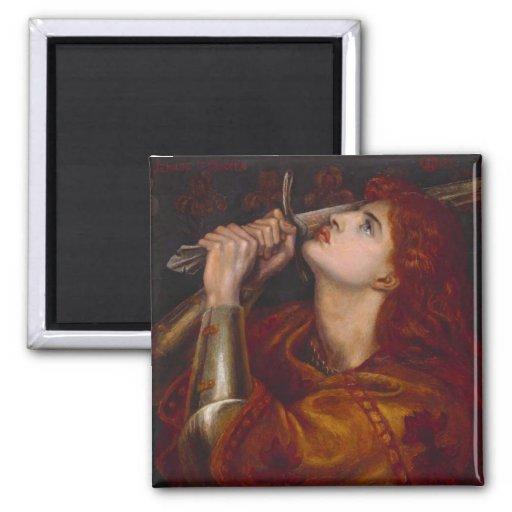 Juana de Arco Imanes Para Frigoríficos