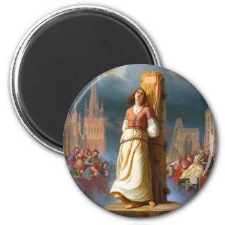 Juana de Arco Imán Redondo 5 Cm