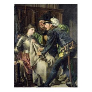 Juana de Arco insultó en la prisión, 1866 Tarjetas Postales