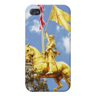 Juana de Arco New Orleans Luisiana iPhone 4 Carcasa