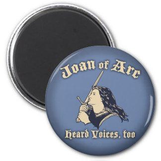 Juana de Arco oyó voces Imán Redondo 5 Cm