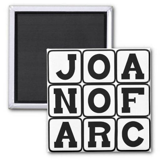 Juana de Arco, santo y mártir Imán De Frigorífico