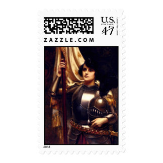 Juana de Arco Sello Postal