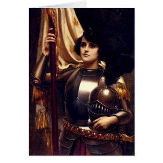 Juana de Arco Tarjeta De Felicitación