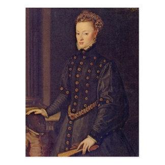 Juana de Austria, hija de Charles V Tarjetas Postales