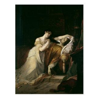 Juana el enojado con Philip I el hermoso Tarjeta Postal