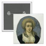 Juana Elisabeth Mencken Pin Cuadrada 5 Cm