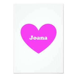 "Juana Invitación 5"" X 7"""