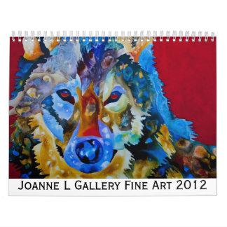 Juana L bella arte 2012 de la galería Calendarios