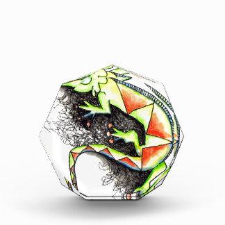 Juana-la-Iguana Acrylic Award