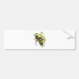 Juana-la-Iguana Car Bumper Sticker