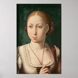 Juana or Joanna of Castile Poster