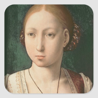 Juana or Joanna of Castile Square Sticker