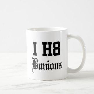 juanetes taza de café