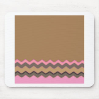 Juanita Chic Chevrons Party Office Peace Love Mouse Pad