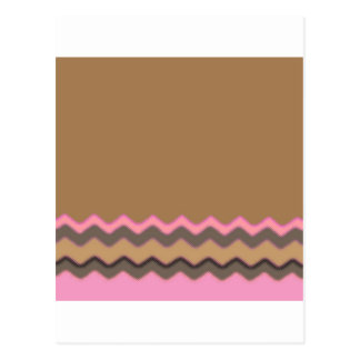Juanita Chic Chevrons Party Office Peace Love Postcard