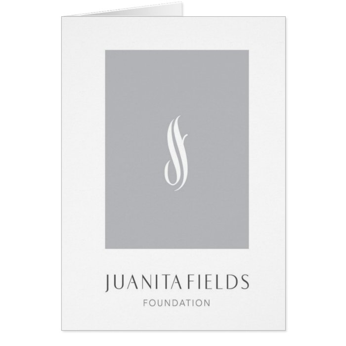 Juanita Fields Foundation Card