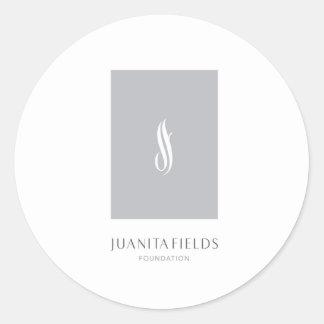 Juanita Fields Foundation Classic Round Sticker