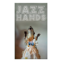 Juanita JAZZ HANDS Poster