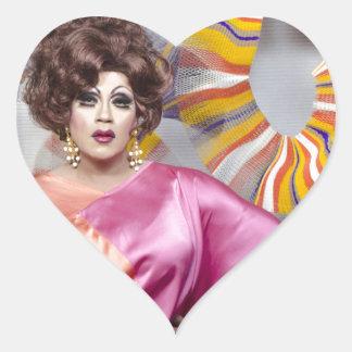 Juanita MORE! Heart Stickers