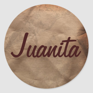 JUANITA Name Stickers Collection