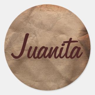 JUANITA Name Stickers Collection
