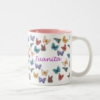 Juanita Two-Tone Coffee Mug