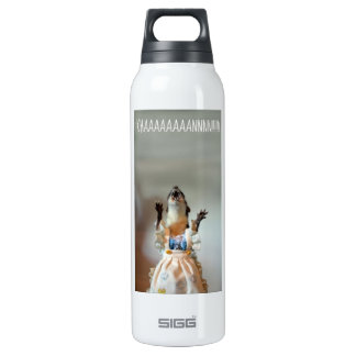 Juanita weasel 16 oz insulated SIGG thermos water bottle