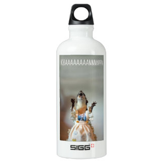 Juanita weasel aluminum water bottle