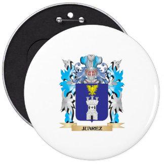 Juarez Coat of Arms - Family Crest Buttons