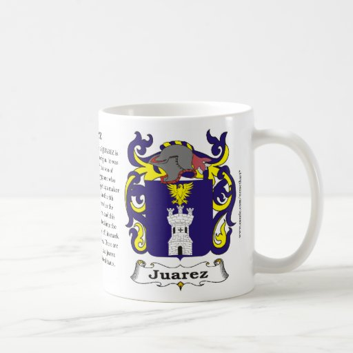 Juarez Family Coat of Arms Mug