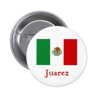 Juarez Mexican Flag Pins