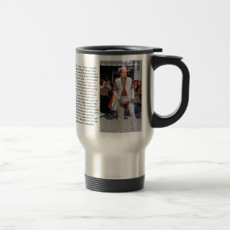 Jubbalups official lone nut story travel mug