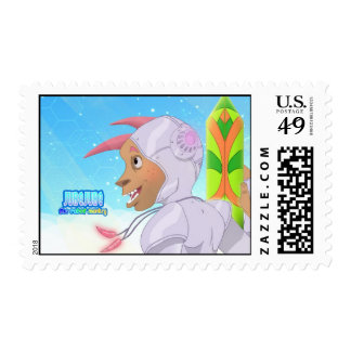 Jubejube the Robot Monkey Stamps
