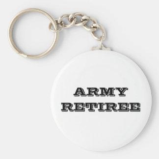 Jubilado del ejército del llavero