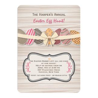 Jubilant Easter Eggs Invitation
