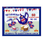 Jubilee Celebration Tea ~ Postcard