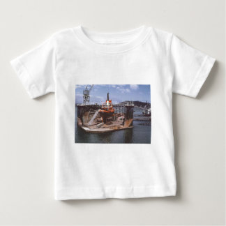 Jubilee floating dock Ngahue 1975 Baby T-Shirt