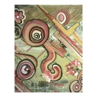 Jubilee Movement Straw Acrylic Art Letterhead