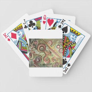 Jubilee Movement Straw Acrylic Art Bicycle Poker Cards