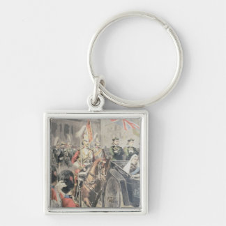 Jubilee of the Queen of England Keychain