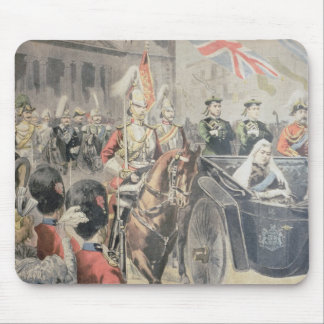 Jubilee of the Queen of England Mouse Pad
