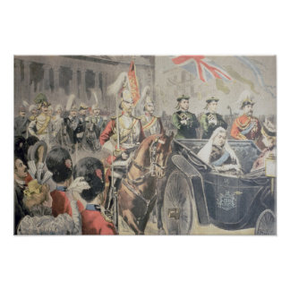 Jubilee of the Queen of England Poster