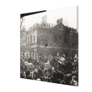 Jubilee Procession in Whitehall, 1887 Gallery Wrapped Canvas