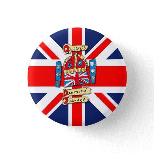 Jubilee Union Jack buttons