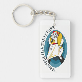 JUBILEE YEAR OF MERCY GEAR KEYCHAIN
