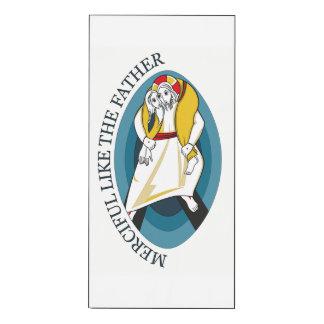JUBILEE YEAR OF MERCY GEAR WOOD PRINT